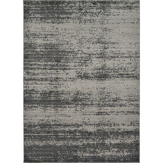 Area Rugs - Color: Gray & Silver-Ivory & Cream-Orange-White-grey & Silver, Rug Size: 8' X 10' | Wayfair