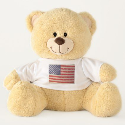 Weathered distressed american usa flag teddy bear usa flag weathered distressed american usa flag teddy bear home gifts ideas decor special unique custom individual negle Image collections