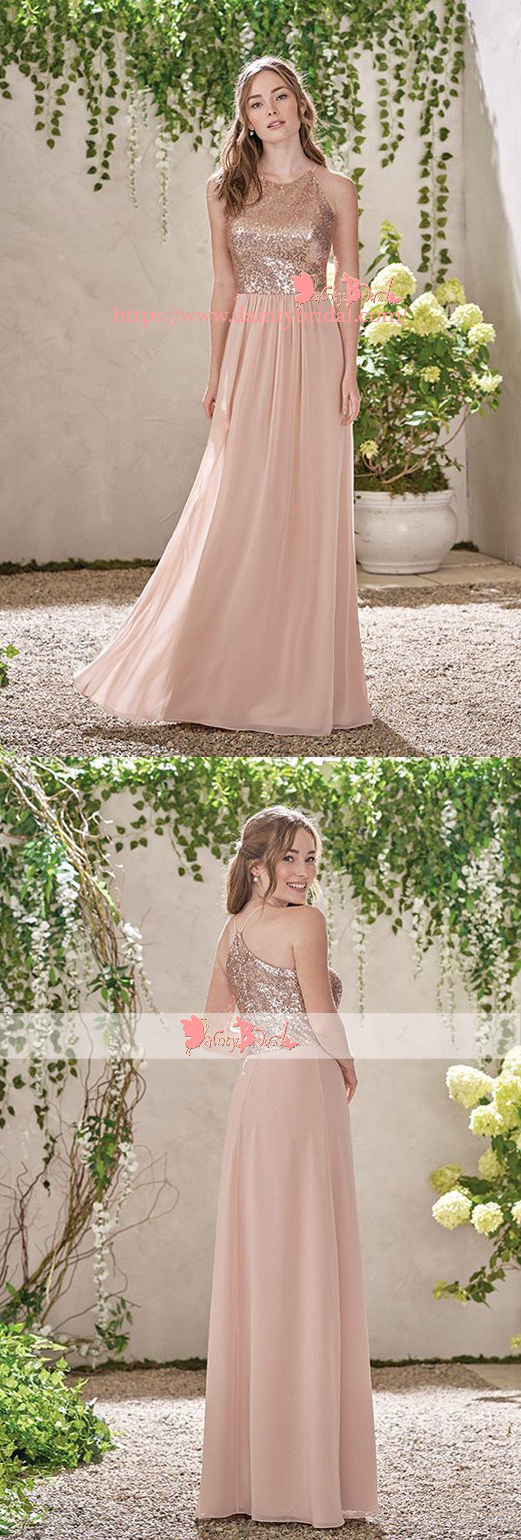 Light pale blue mismatched chiffon simple aline bridesmaid dresses