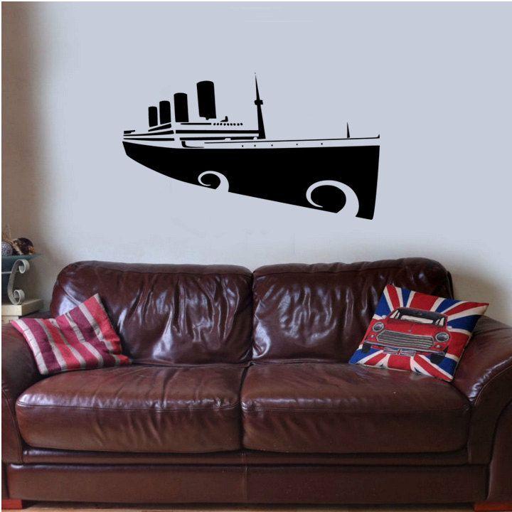 Titanic belfast Wall Sticker Decal Vinyl Mural British Art Bedroom Graphic Transfer. £14.99 via Etsy. & Titanic belfast Wall Sticker Decal Vinyl Mural British Art Bedroom ...