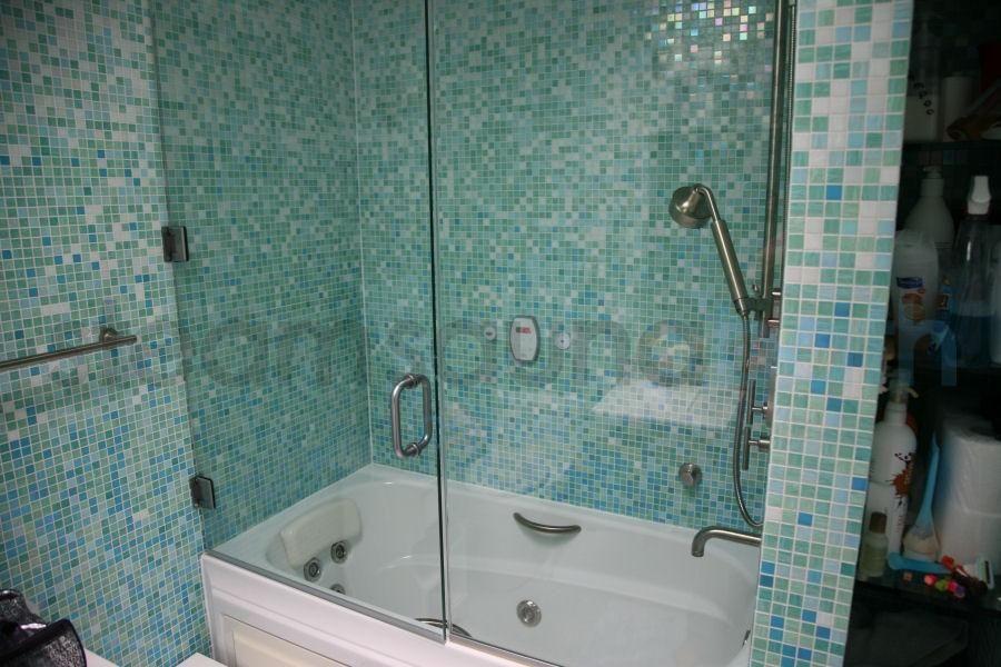 Lowe's Tub And Shower Combo Tub frameless steam shower