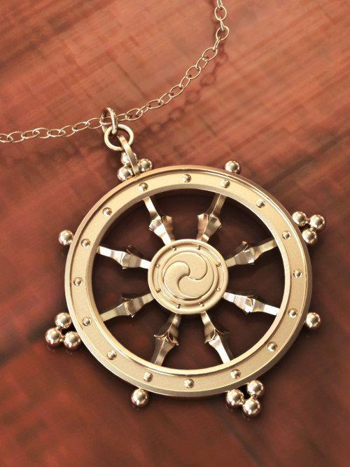 Goldplated wheel of life dharmachakra pendant by geomatrixstudio goldplated wheel of life dharmachakra pendant by geomatrixstudio 4995 aloadofball Gallery