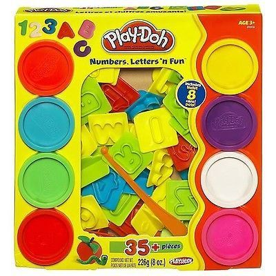 Play Doh Sets Playdough Numbers Letters N Fun Art Toys And Games ...