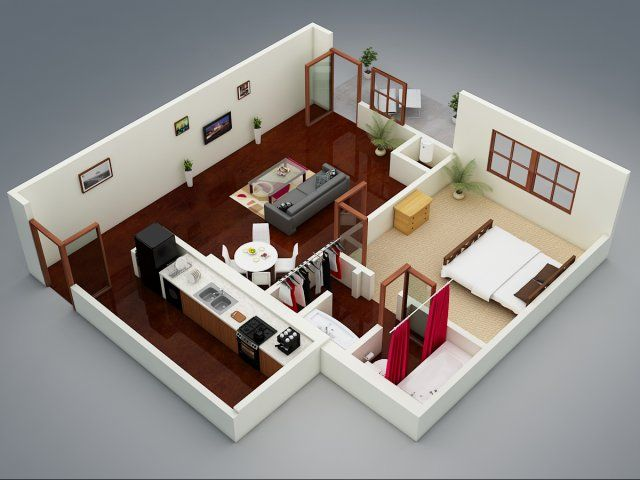 3d Floor Plan Image 1 For The The Plaza Floor Plan Of Property The Capitol On 28th Floor Plans Sweet Home Oklahoma City
