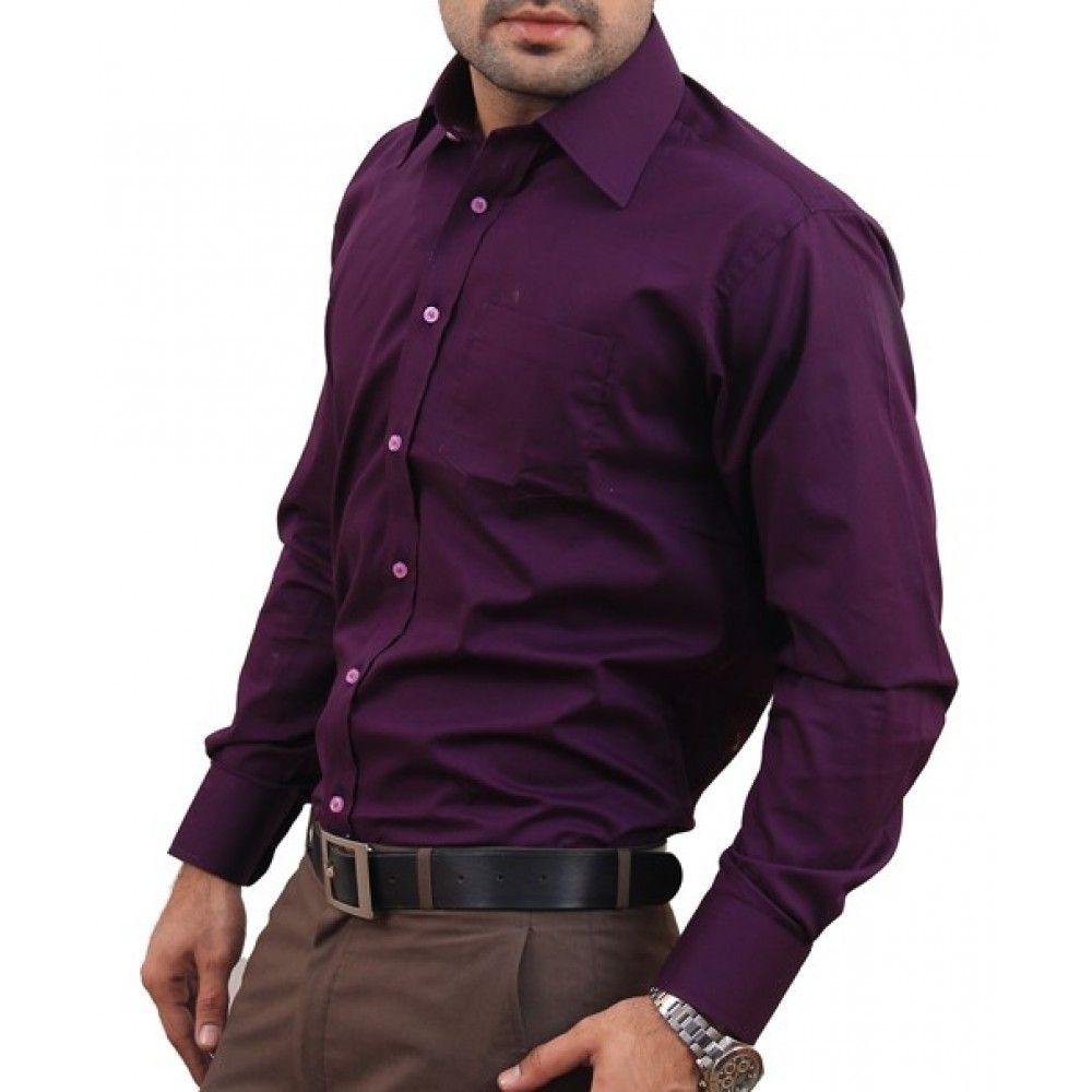 dark purple mens dress shirt | Dark Purple Short Halter