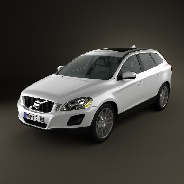 Price Of Volvo Xc60: Volvo XC60 3d Model From Humster3d.com. Price: $75