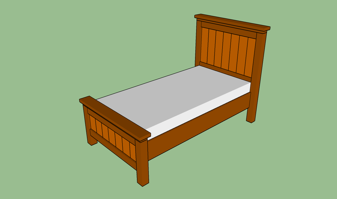 how to build a twin bed frame | for my girls | bed frame plans, twin