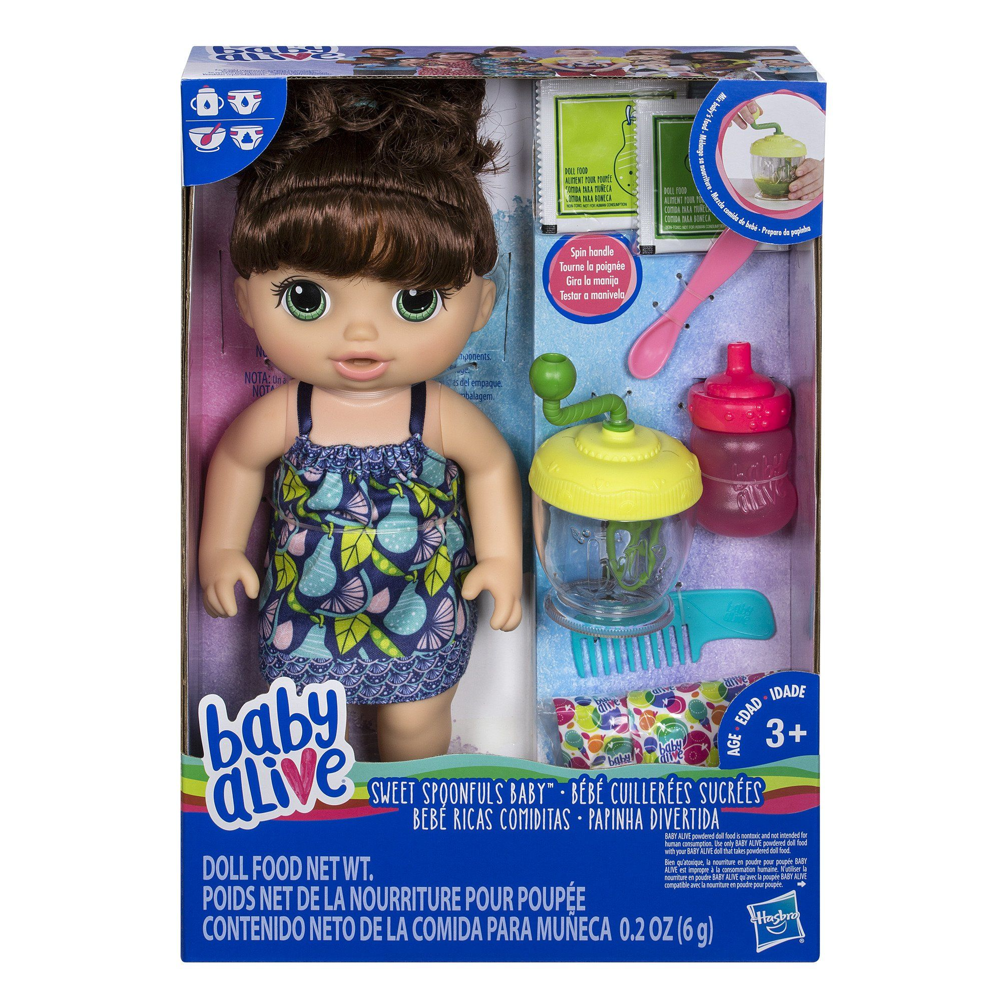 Baby Alive Sweet Spoonfuls Baby Doll Girl Br Click Image For More Details Note Amazon Affiliate Link Baby Alive Dolls Baby Dolls For Kids Baby Girl Toys