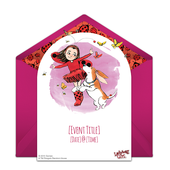 Ladybug girl online invitations girl birthday sleepover and birthdays birthday party ideas free ladybug girl invitation the picture book online invitation collection perfect for inviting friends filmwisefo