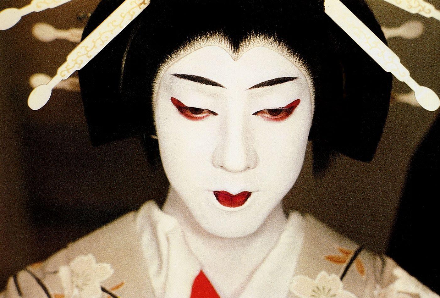 Le Theatre Japonais Kabuki The Japanese Theater Kabuki Japon Theatre Ikebana