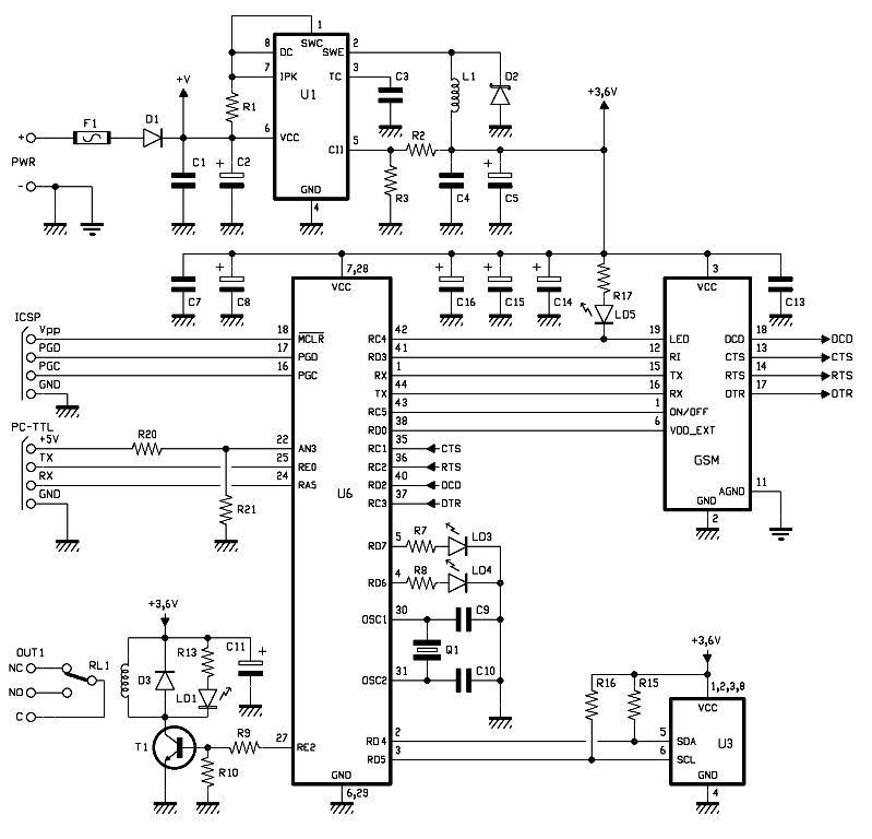 Pin by Catfishguy308 on Boat electronics Circuit diagram