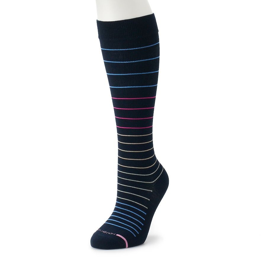 ba98a83026 Women's Dr. Motion Striped Knee-High Compression Socks | Products ...