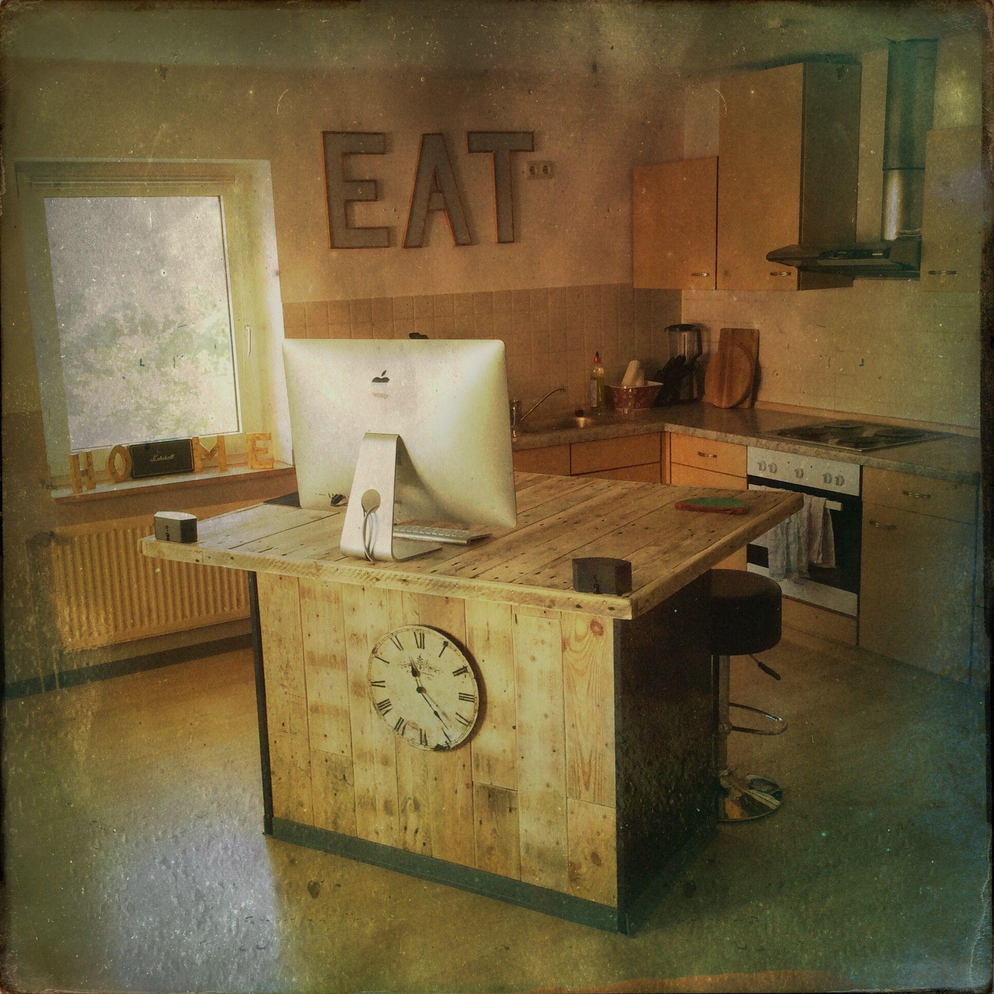 Küchentresen, Palettenholz | Habe ich mal selbst gebaut DIY ...