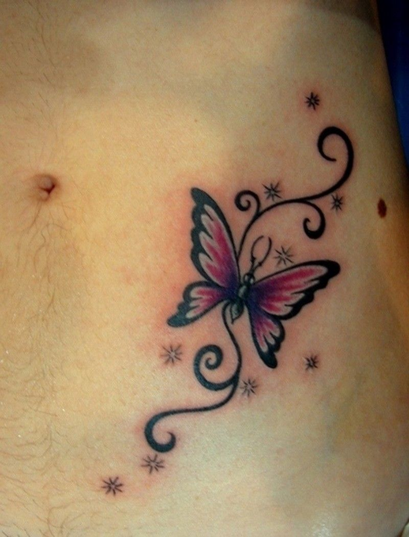 Butterfly star tattoo designs - Lilac Small 3d Butterfly Tattoo Google Search