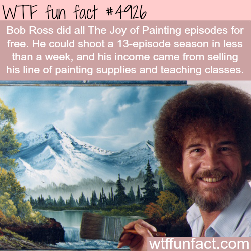 Bob ross facts wtf fun facts wtf fun facts pinterest bob bob ross facts wtf fun facts voltagebd Gallery