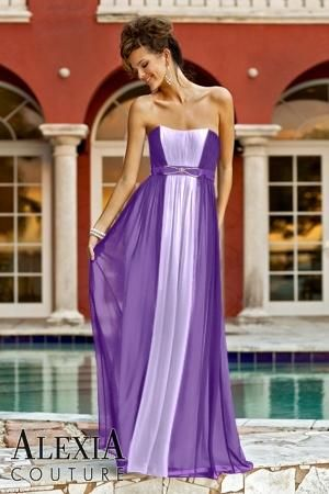 031074470ddc 0 Band,Pleated,Strapless Style 872 Bridesmaid Dress by Alexia Designs