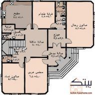 مخططات بيوت سعودية House Layout Plans My House Plans House Floor Design