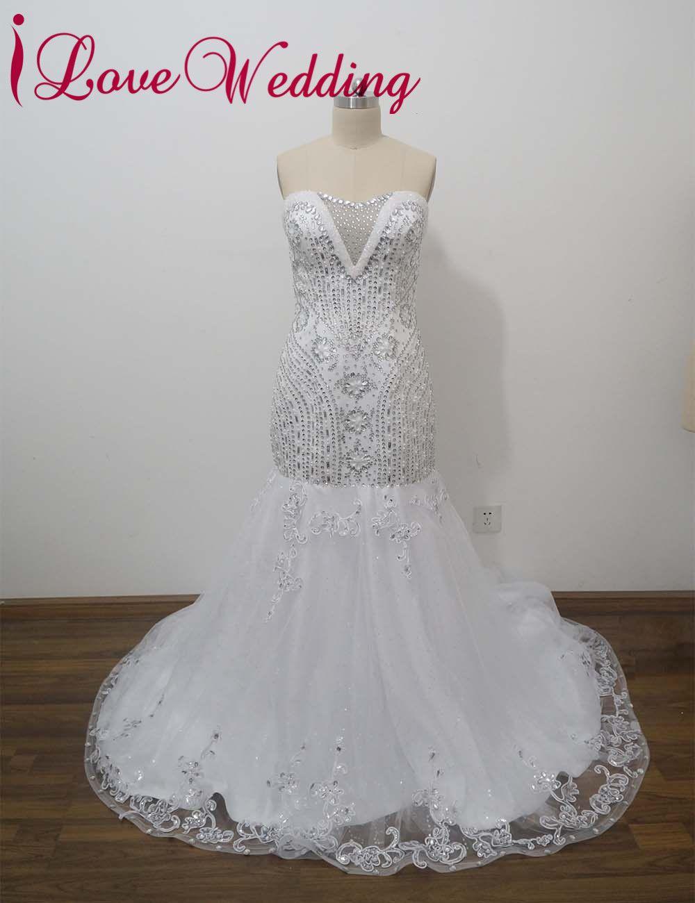 Click to buy ucuc ilovewedding mermaid wedding dresses formal