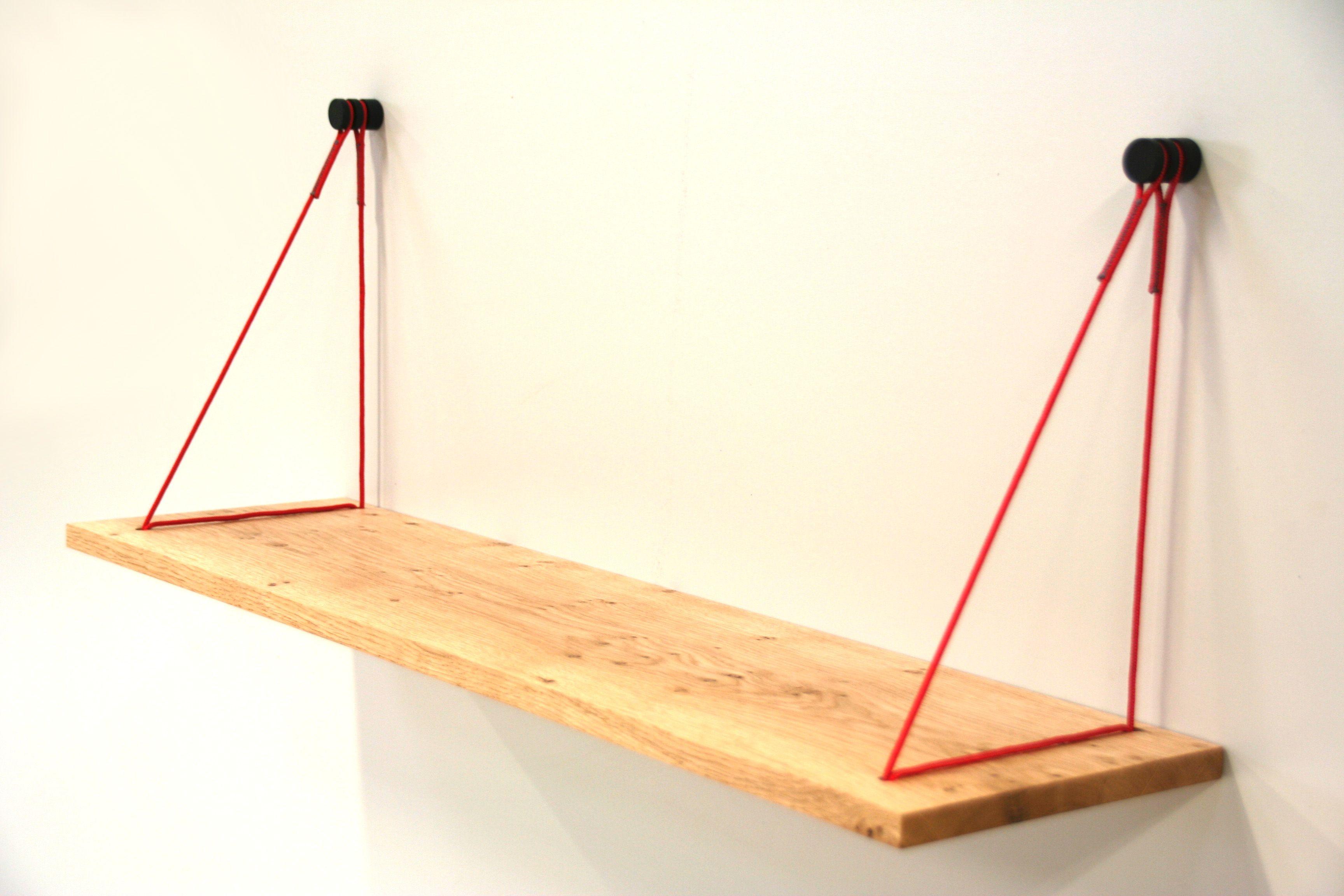 Hangplank sling slank de massief houten wandplanken zijn