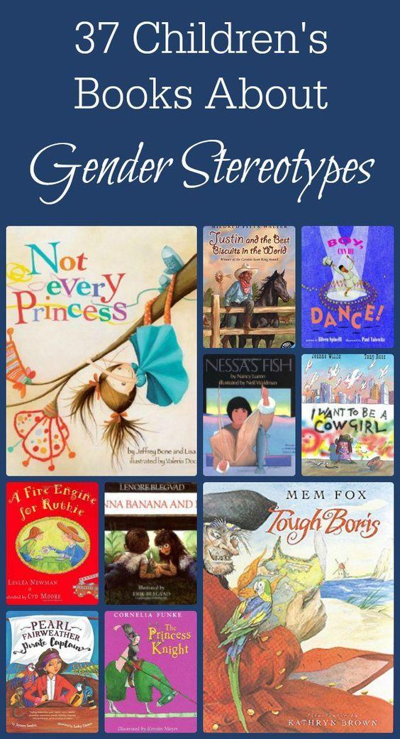 gender stereotypes in childrens literature