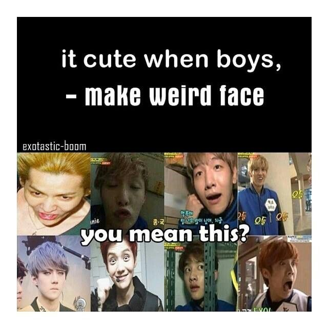 //makes ugly face//