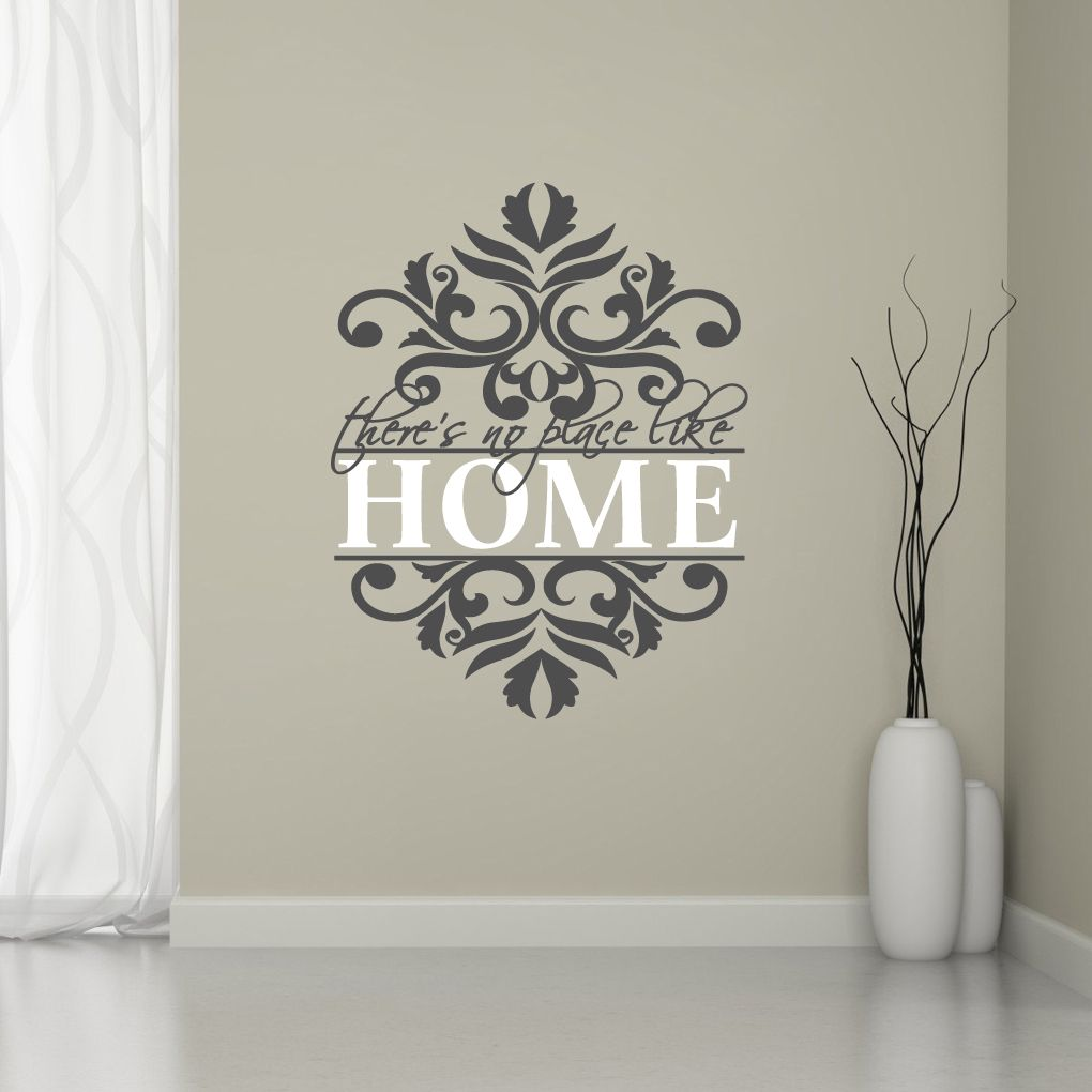 Theres No Place Like Home Wall Decals Entryway Home And Places - Wall decals entryway
