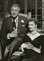 Sir Michael Redgrave and Vanessa Redgrave