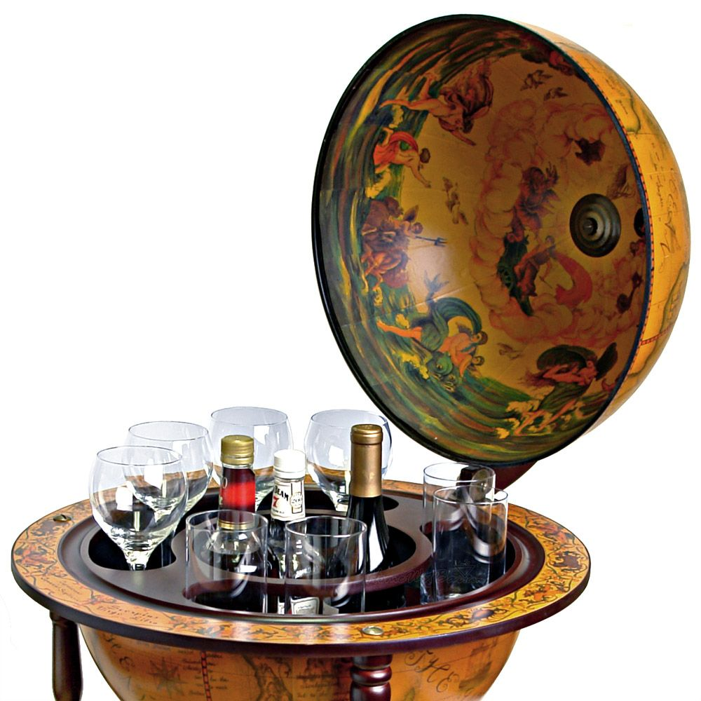 Superior 16th Century Italian Replica Globe Bar   21