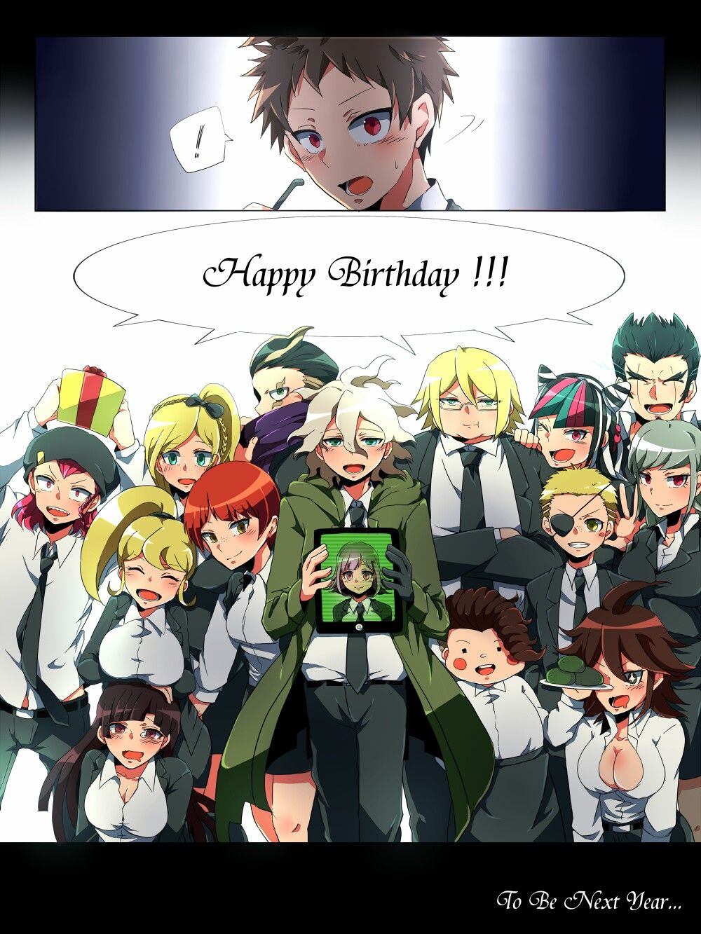 HBD Hajime part 4 | Danganronpa | Anime love, Manga games