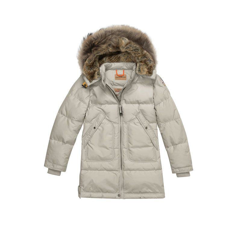 promo code ca8d2 17bfc Girls Parajumpers Sand Masterpiece Long Bear Down-filled ...
