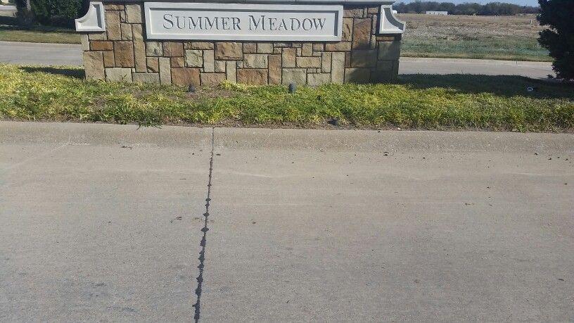 Summer Meadow Subdivision in DeSoto TX.