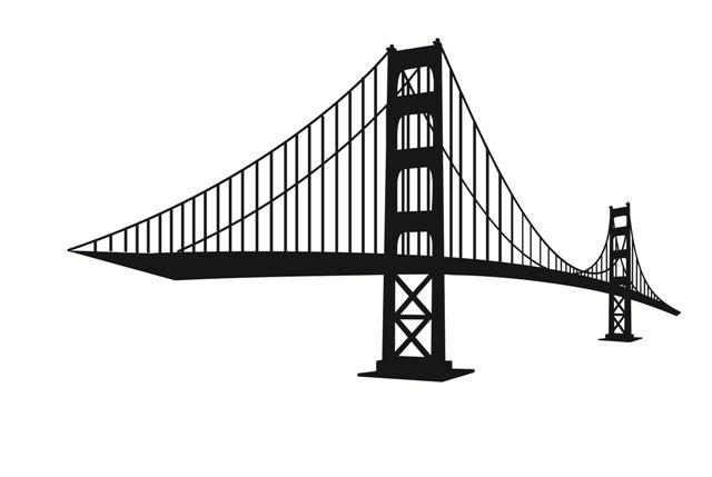 Golden Gate Bridge Silhouette Black And White Ntca Cornhole Designs Golden Gate Bridge Black And White