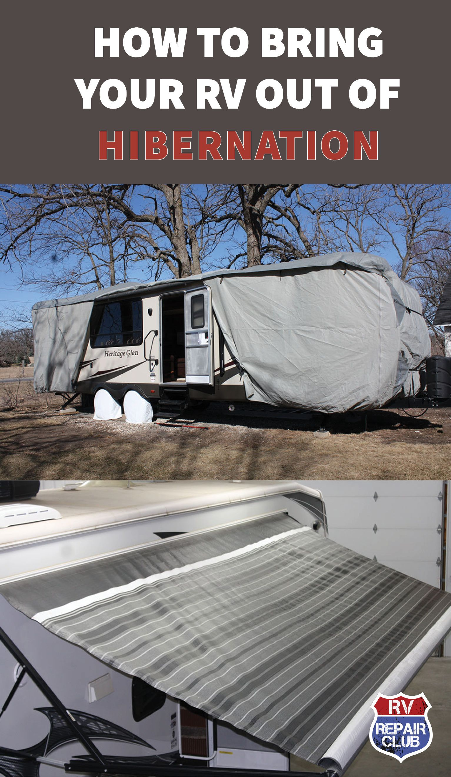 How to bring your rv out of winter hibernation camping
