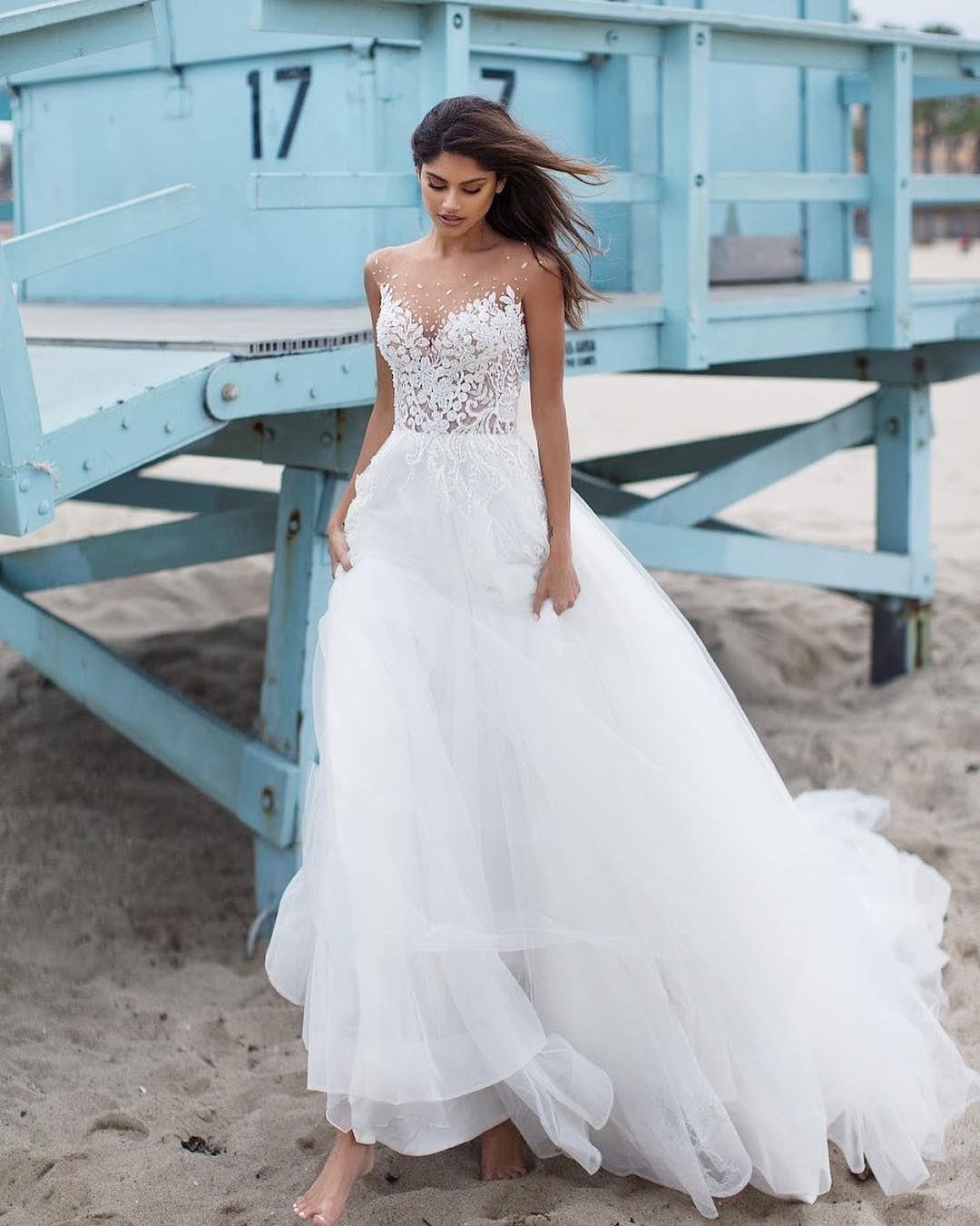 "c0693db2164 Milla Nova™ on Instagram  ""Happy to announce a New California Dreaming  Collection on our website  www.millanova.com"". Milla Nova 2019 wedding  dresses ..."