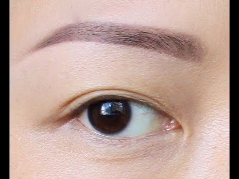 How to Fill Sparse Eyebrow: Anastasia Beverly Hills Dipbrow Pomade