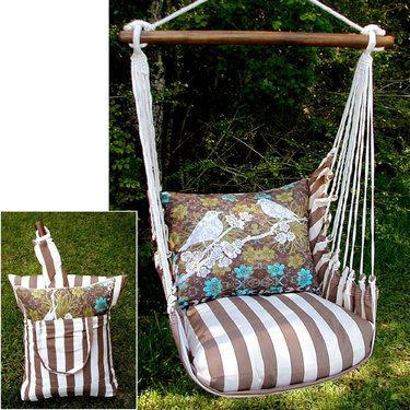 Turtledove Swing with Storage Tote