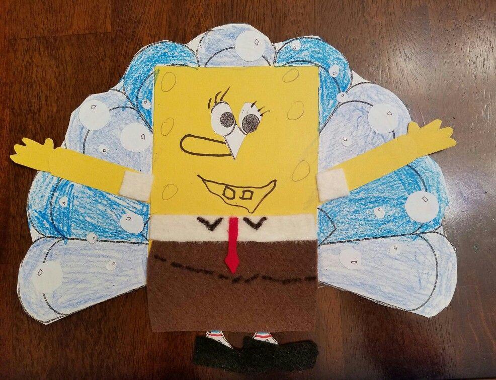 Tom Turkey Disguised As Spongebob Turkey Disguise Turkey