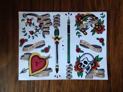 The Story So Far Flash Tattoos Tattoos Band Tattoo