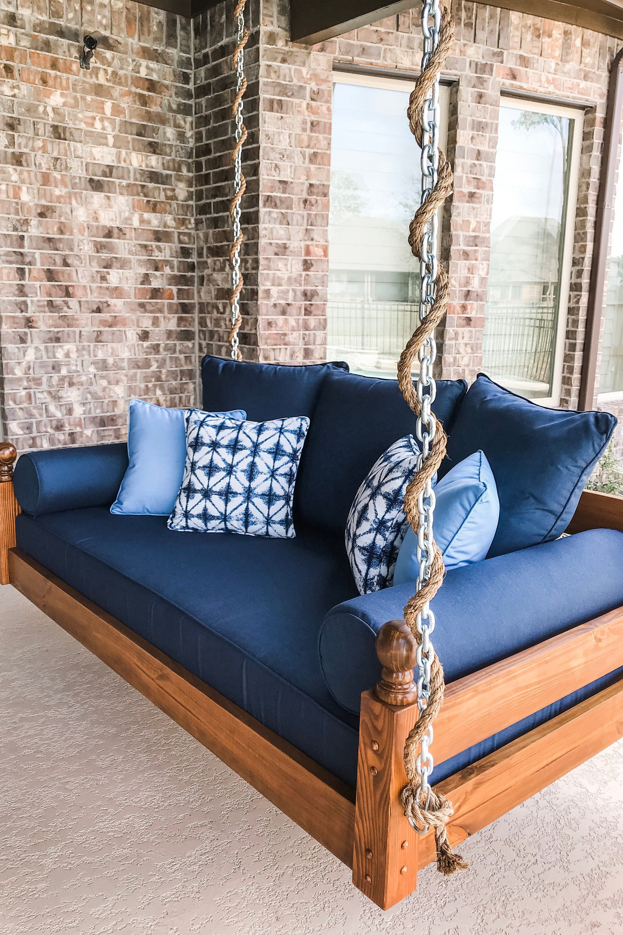 Indoor Outdoor Swing The West Ashley Swing Bed Free Shipping