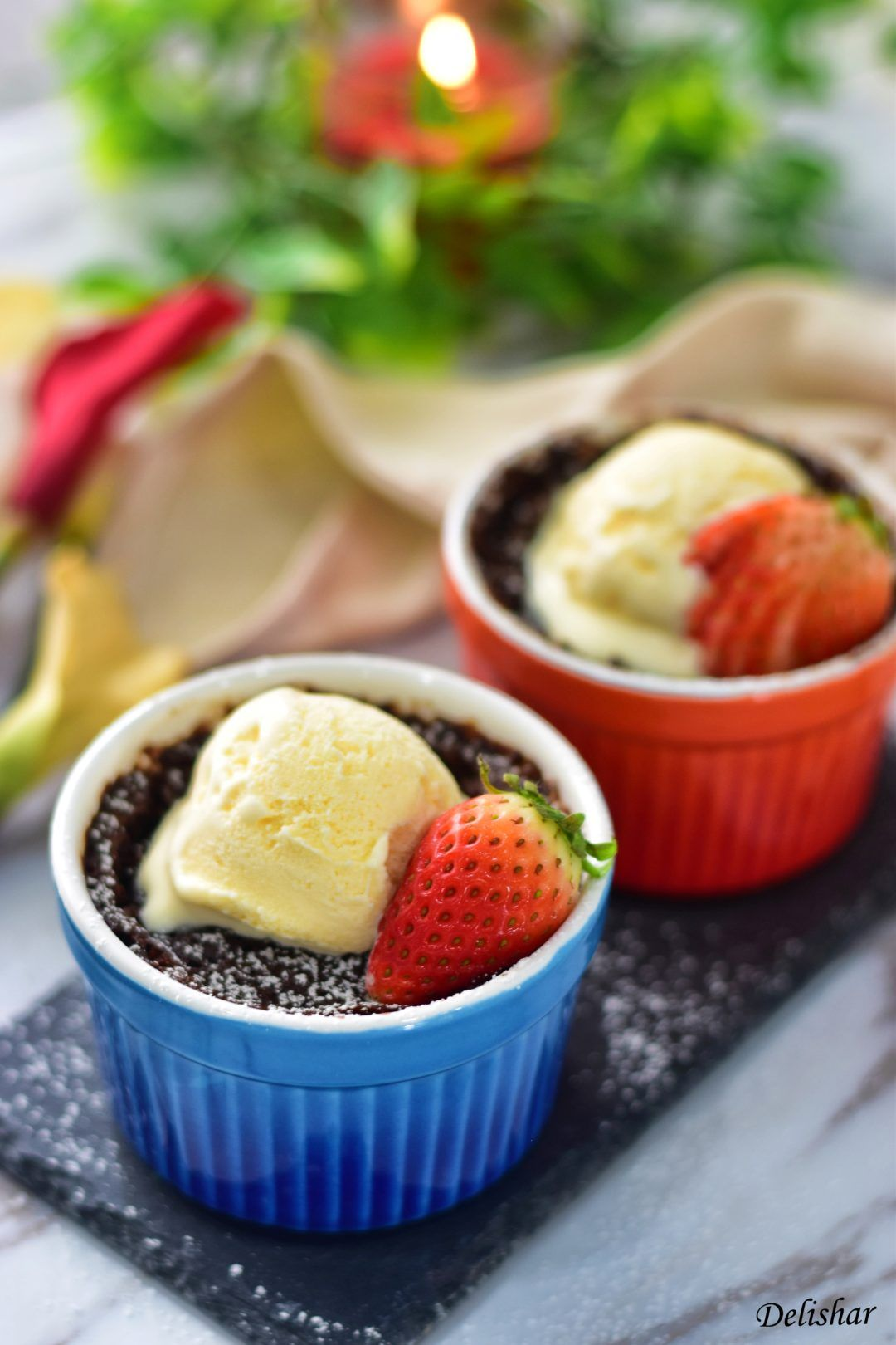 Chocolate Lava Mug Cake (5 mins) | Delishar - Singapore ...