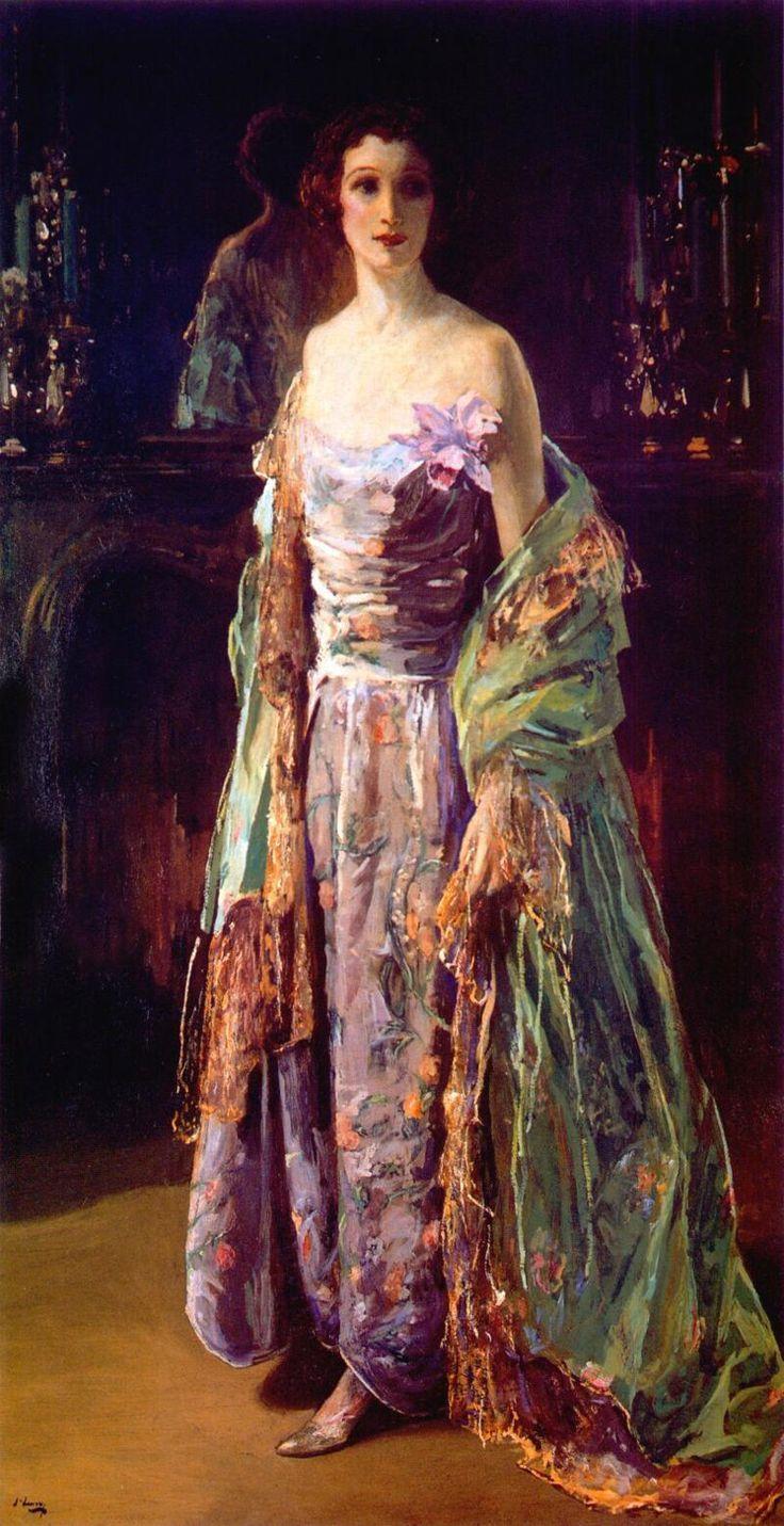 The Green Coat (1926). John Lavery (Irish, 18561941). Oil