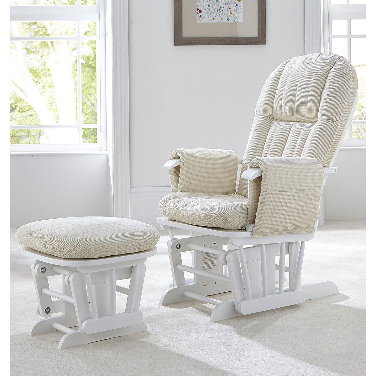 Magnificent Tutti Bambini Deluxe Reclinable Glider Chair And Stool Creativecarmelina Interior Chair Design Creativecarmelinacom