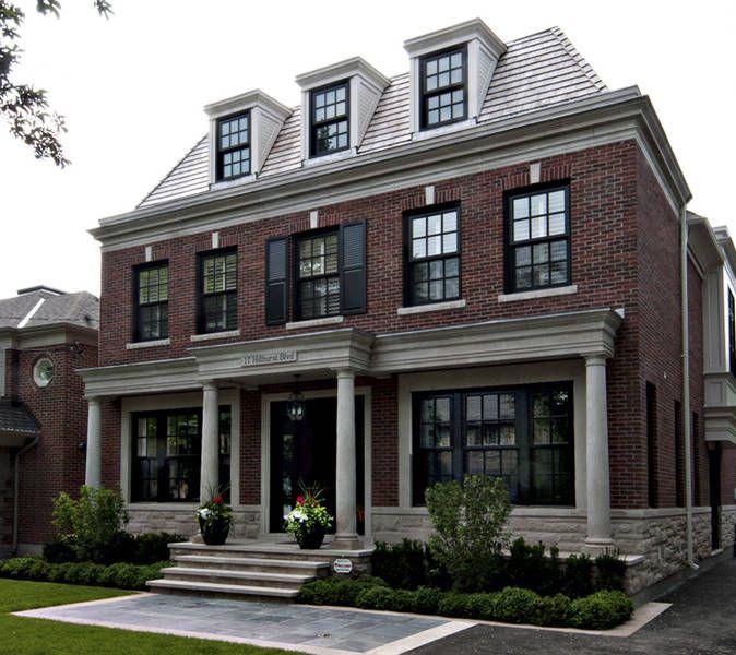 Brick Home Exterior Design Ideas: Exteriors // Sherwood Custom Homes //