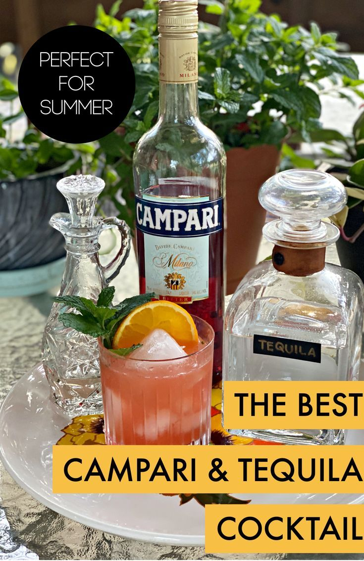 Campari To-Kill-Ya | A Campari and Tequila Cocktail