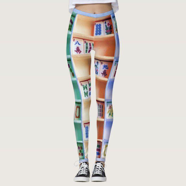 mah jongg tiles leggings #mahjong #mahjongg #mah #mahj - Do you have ones like these? Probably not....