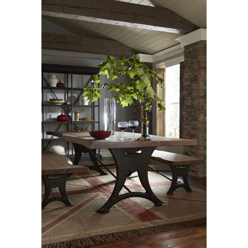 Organic Forge Dining Table Set From Texas Furniture Hut Home Sweet
