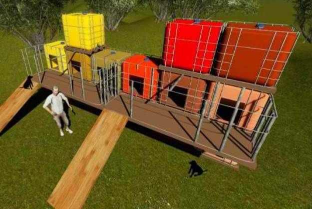 Shipping Containers Upcycled To Create Animal Shelter Animal Shelter Animal Shelter Design Pet Diy Projects