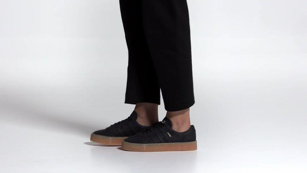 adidas SAMBAROSE Shoes Black | adidas UK | #OOTD fall