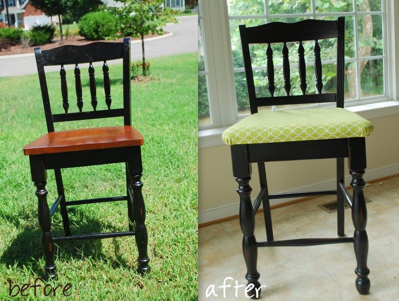 how to upholster a chair interiors dining room chairs room rh pinterest com