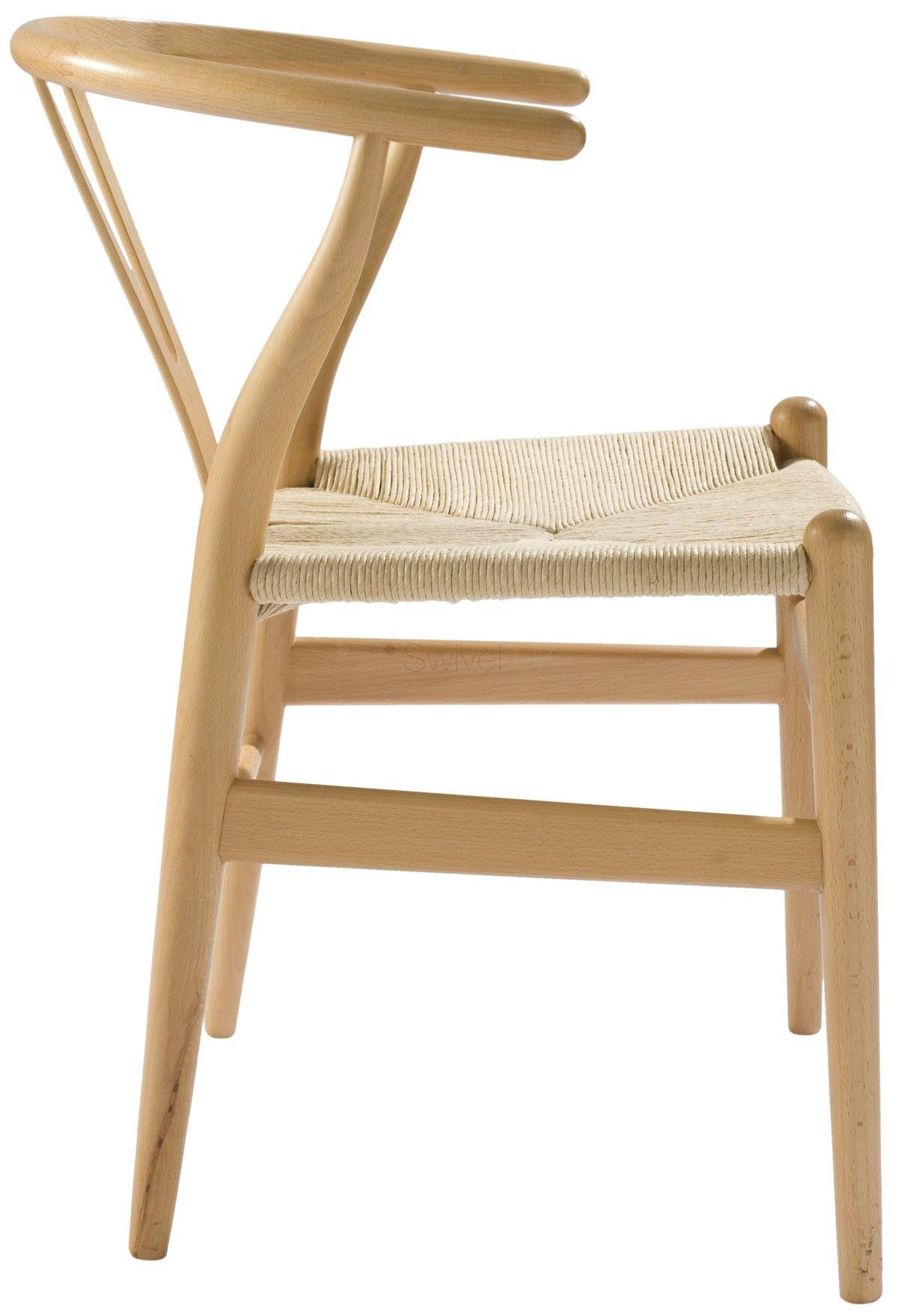 Hans J Wegner CH24 Wishbone Y Chair Style Wishbone